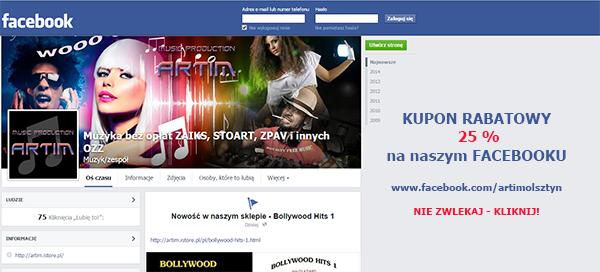 muzyka bez zaiks na facebooku